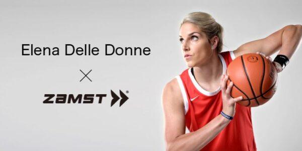 잠스트, 미국 여성 프로농구 선수 엘레나 델레 도네 스폰서 계약 발표